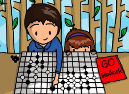 Children Play Go Illustration